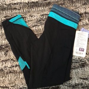 "NWT Lululemon Inspire Tight II 25"" Sz 4"